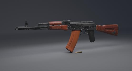 AK-74-Assault-Rifle-3D1