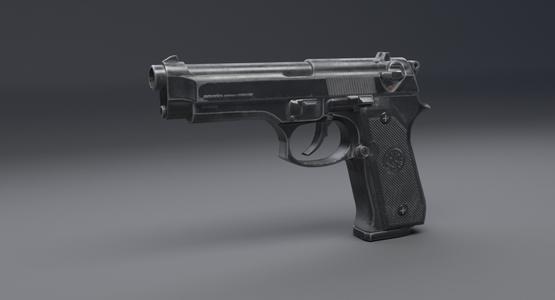 Beretta-92-3D-model1