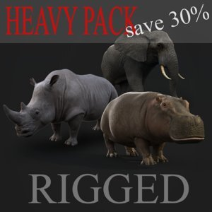 Heavy-animals-pack-RIGGED1