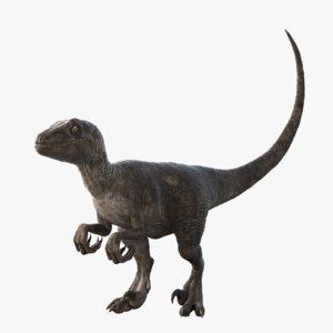 Velociraptor-Rigged1